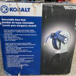 Hose reel retractable