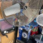 Fan large shop fan