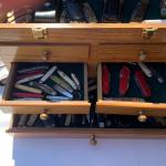 Collection of  utility knives