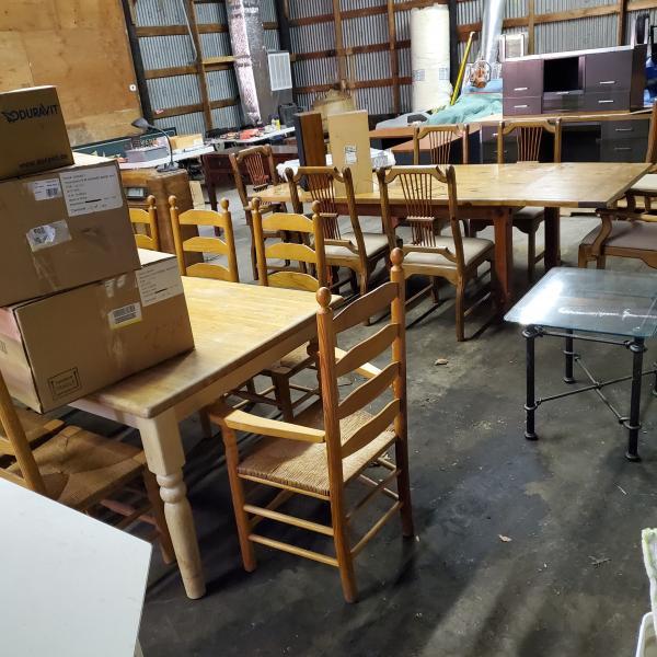 Photo of Garage Sale Indoors! All Bargains!