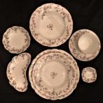 Antique 1890's Carlsbad Austrian China Serving Set Pattern CARCAR158