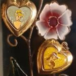 Vintage Disney Princess Lockets