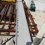 Steel girders for floor joists 40 ft