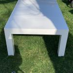 Shiny White Coffee Table