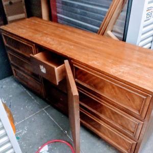 "Photo of 9 drawer 66"" W"