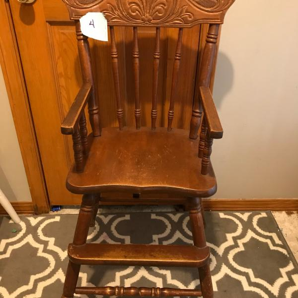 Photo of Antique Highchair