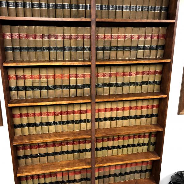 Photo of Law Book collections - great decor item or for the beginning law student
