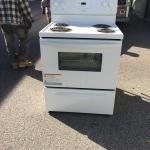 AC and Electric Stove