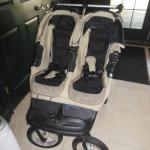 City Elite double baby jogging stroller