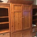 2 Bookcase and Cabinet Set