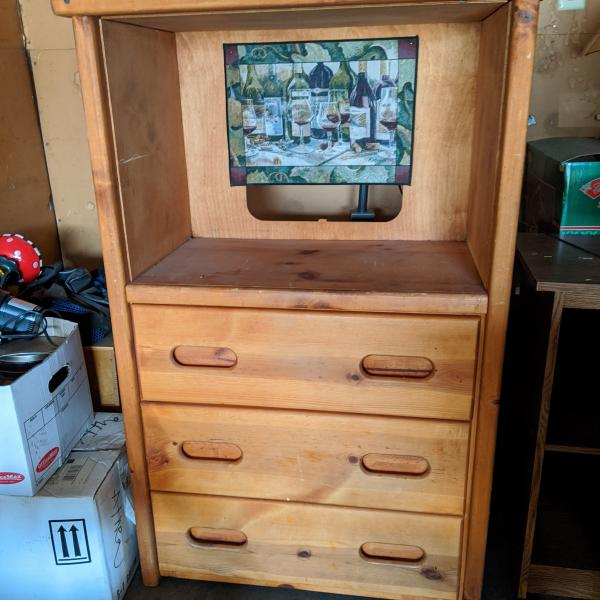 Photo of Solid wood chest