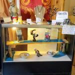 Display Case with Lights