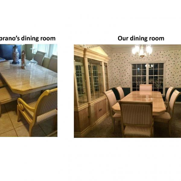 Photo of Soprano's dining room