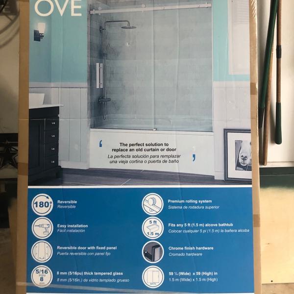 Photo of OVE Shower Glass Door