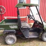 Four wheel mule