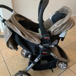 Britax stroller, carrier, and 2 bases