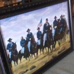 VIP Buffalo Soldiers... Large Framed Picture