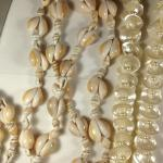 #15038, 7 Vintage shell necklaces, real shells!