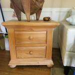 Small Oak Side Chest