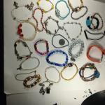 25 Vintage Costume Jewelry Bracelets #15036
