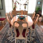 Bernhardt Solid Wood Dining Room Set