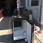 Nostalgic Electrics Keg Refrigerator