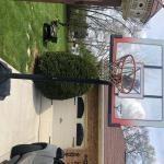 Basketball pole  and goal
