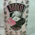 BUNCO  Dice Game by Cardinal--Breast cancer Edition--NEW