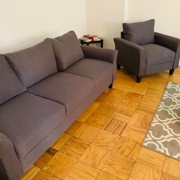 Photo of NEW Modern 5pc living room set