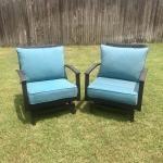 ROCKING Wicker Lawn Chairs