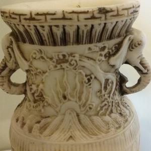 Photo of Vintage Asian Resein Vase