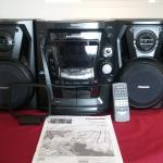 Panasonic CD/Cassette Stereo System