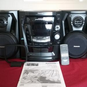 Photo of Panasonic CD/Cassette Stereo System
