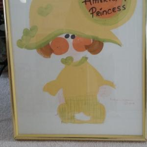 Photo of Framed Jewish American Princess Art