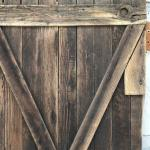 Antique, Rustic Barn Door