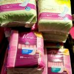 Poise  & Tena  pads.