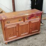 Wood Dining room sideboard