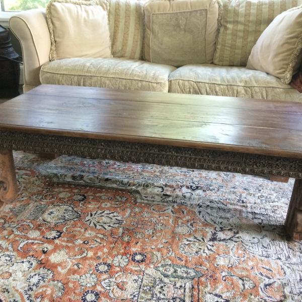 Photo of Tibetan coffee table