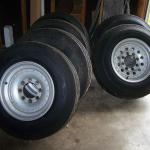 6 Trailer Tires w/Wheels $500 FIRM *READ AD* Pickup St Clair MO 63077