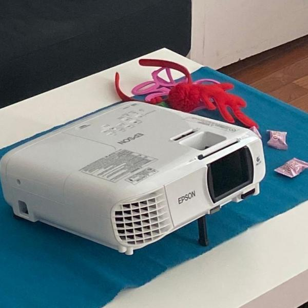 Photo of Epson 1080p projector for home theater setup
