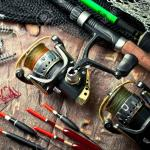 FISHING!  LOTS and LOTS of fishing stuff!