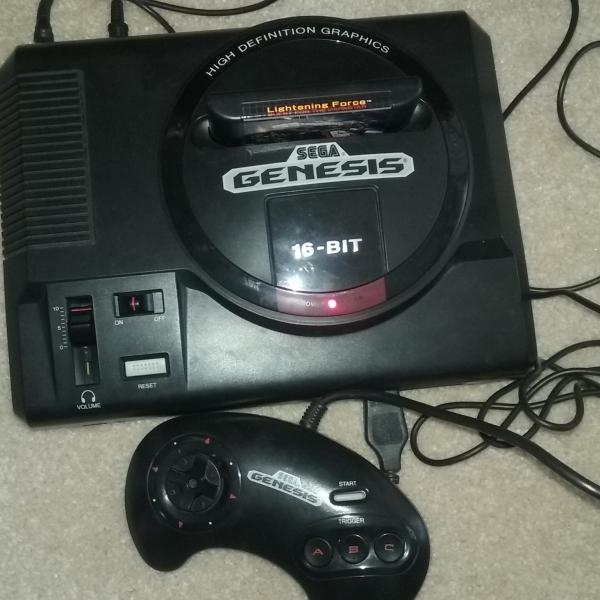 Photo of Sega Genesis Console Game System
