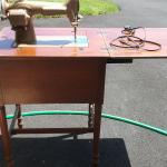 Antique Westinghouse Sewing Machine & Table