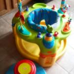 Kids Activity center & Spinning Stool