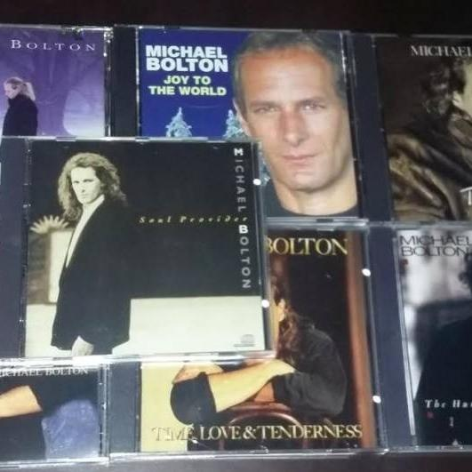Photo of Set of 7 Michael Bolton CDs
