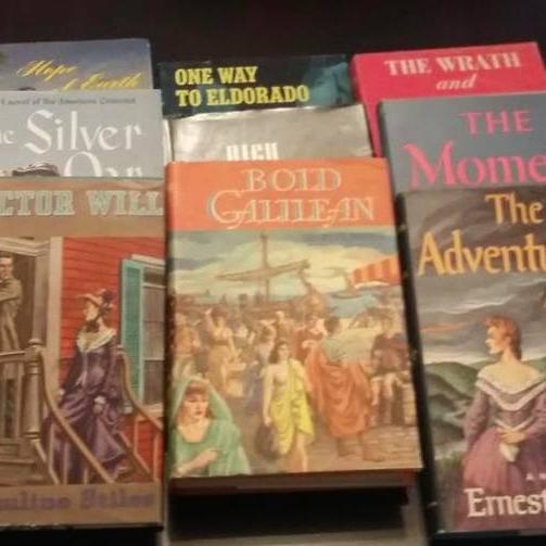 Photo of Set of 16 vintge books from the 1940's and 1950's