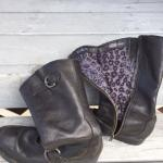 Size 8 women's riding boots $40