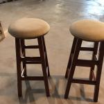 Matching swivel stools