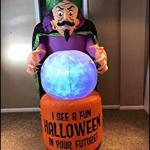 7.5' Fortune Teller Halloween Inflatable