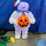 5' Stay Puft Ghostbusters Halloween Inflatable